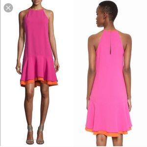 Diane vine Furstenberg High Neck Sleeveless Dress